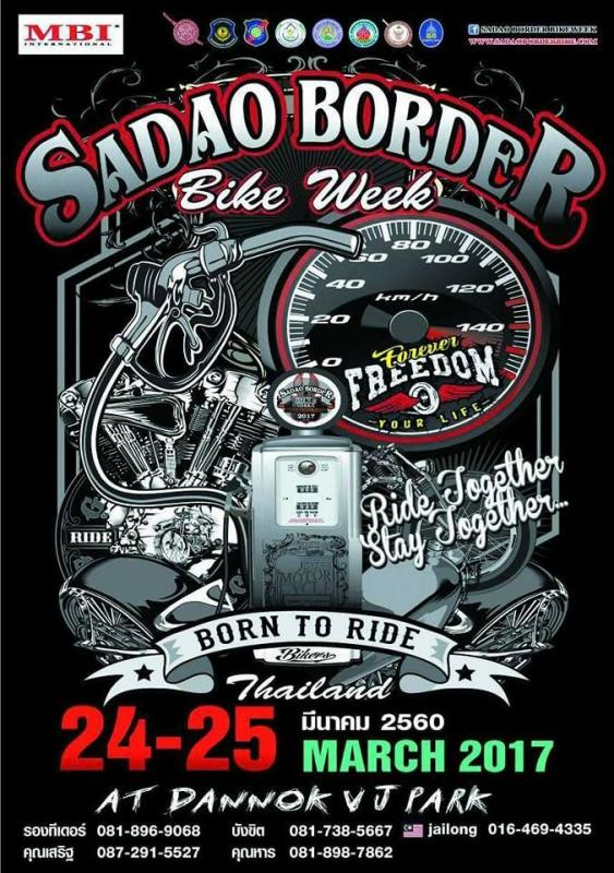 Thailand Bike Week And Other Events 2017 Ride Asia Motorcycle Forums