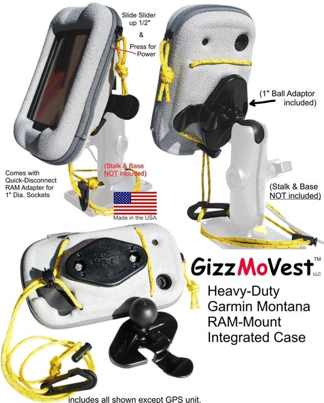 Where to buy a Garmin Montana 600 Motorcycle kit?   Ride