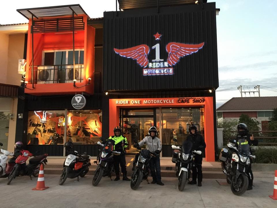 Bikers New Coffee Shop In Yasothon Ride Asia Motorcycle